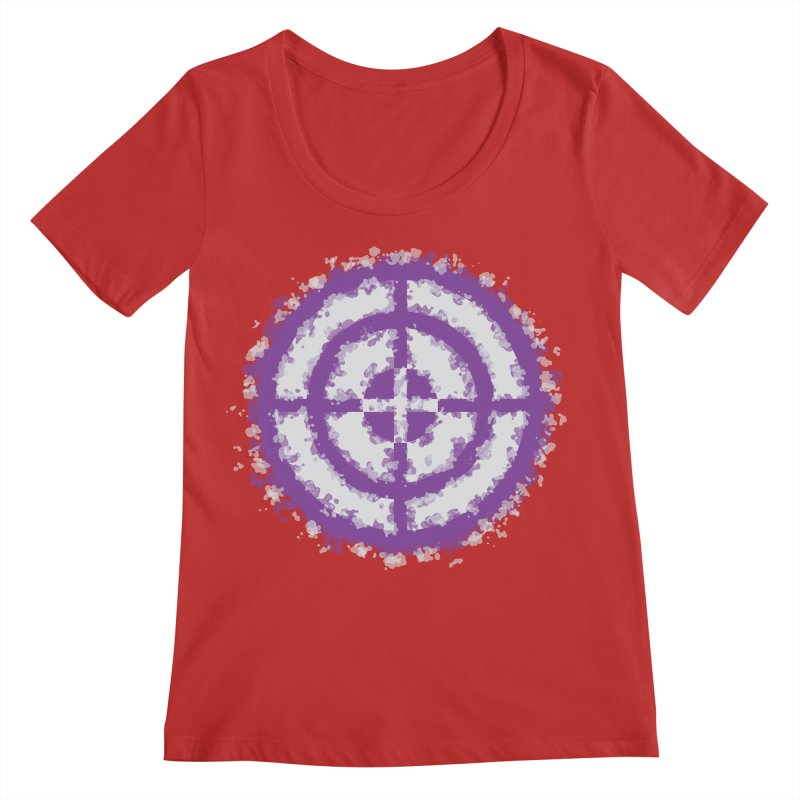 Hawkeye Women's Regular Scoop Neck by AvijoDesign's Artist Shop