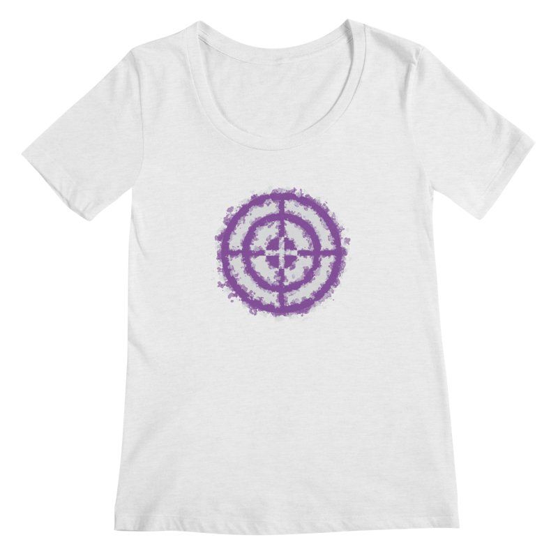 Hawkeye Women's Scoop Neck by AvijoDesign's Artist Shop
