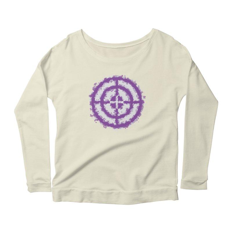 Hawkeye Women's Scoop Neck Longsleeve T-Shirt by AvijoDesign's Artist Shop