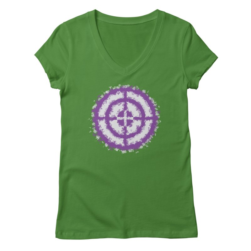 Hawkeye Women's Regular V-Neck by AvijoDesign's Artist Shop