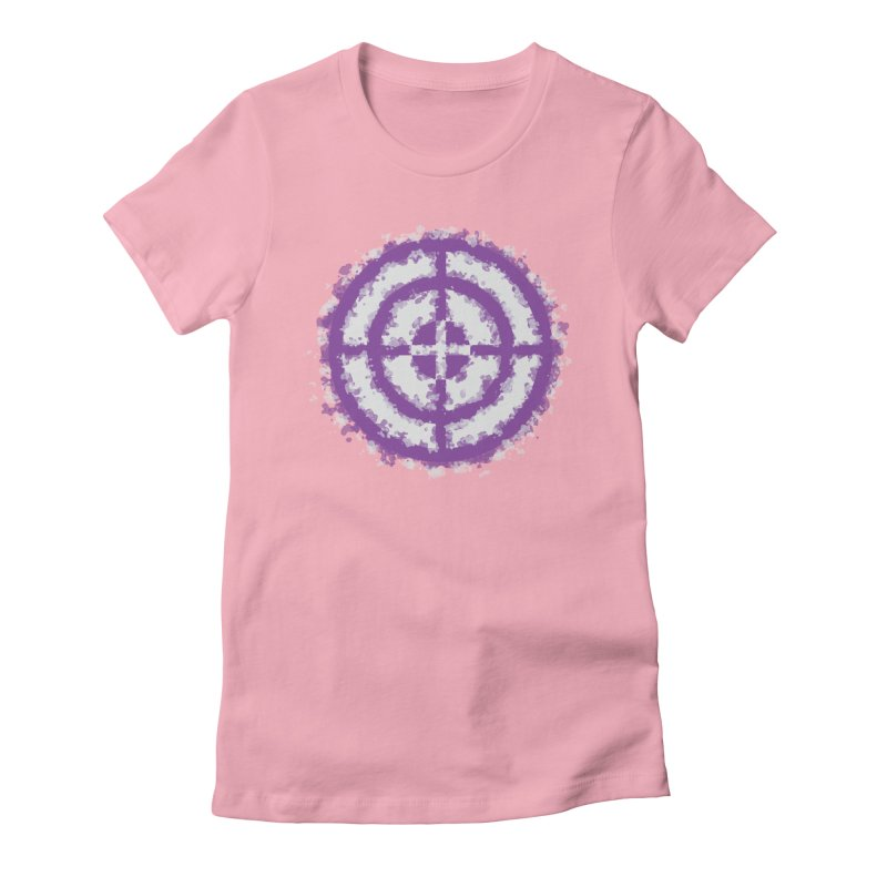 Hawkeye Women's Fitted T-Shirt by AvijoDesign's Artist Shop