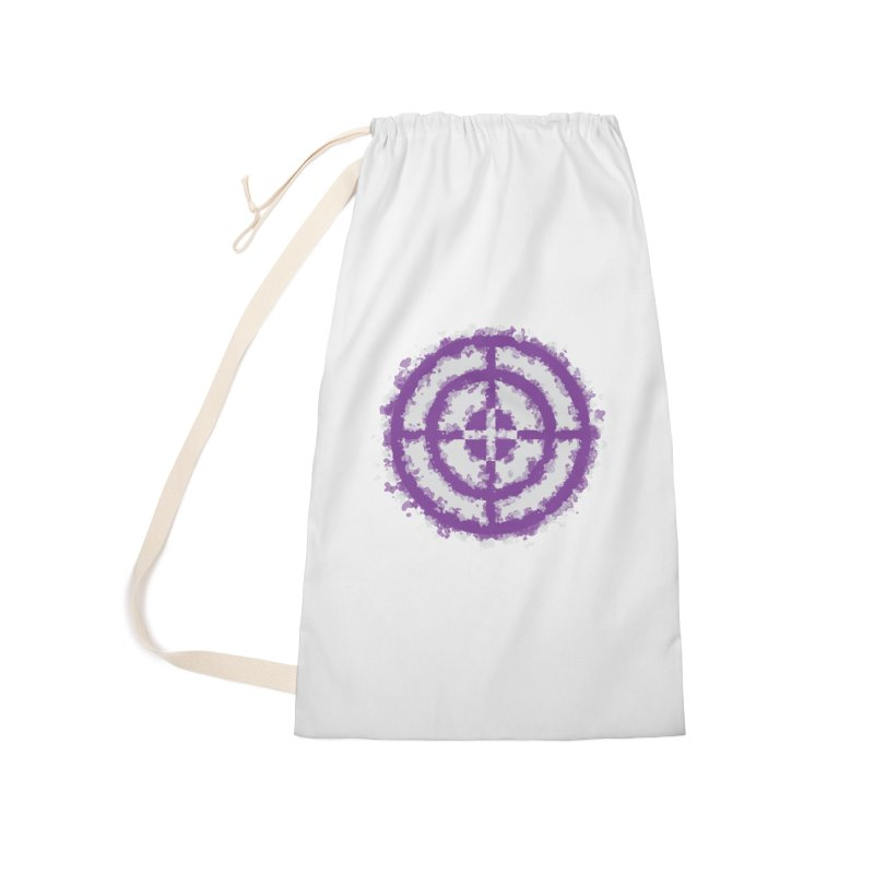 Hawkeye Accessories Laundry Bag Bag by AvijoDesign's Artist Shop