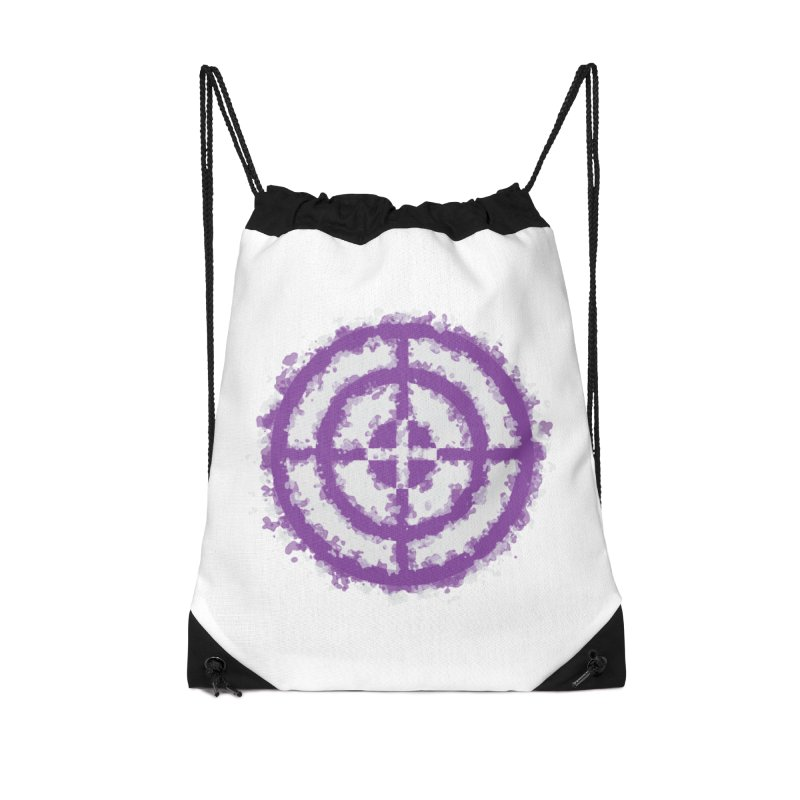 Hawkeye Accessories Drawstring Bag Bag by AvijoDesign's Artist Shop