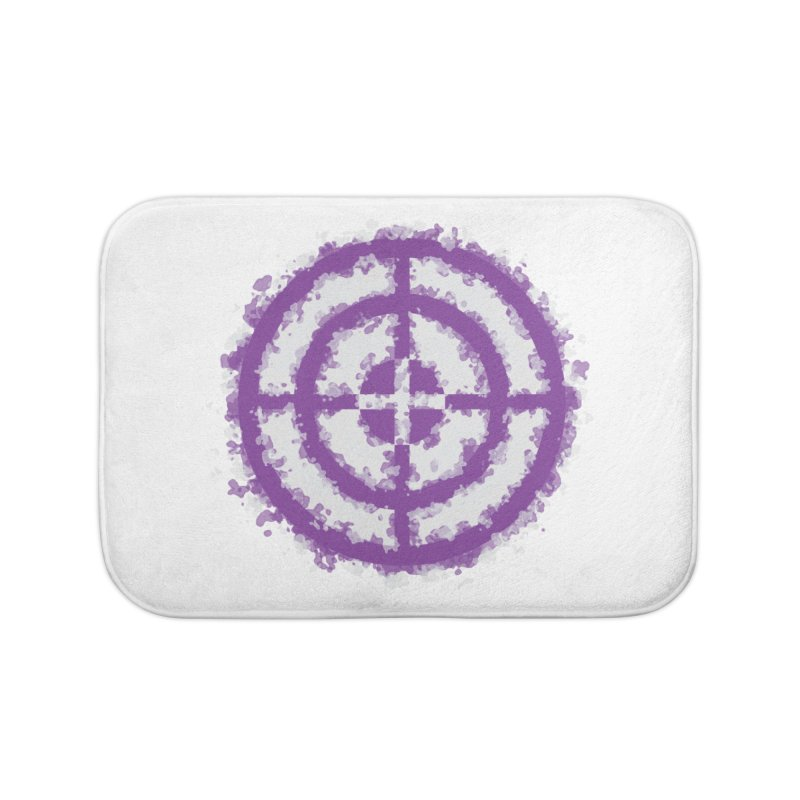 Hawkeye Home Bath Mat by AvijoDesign's Artist Shop
