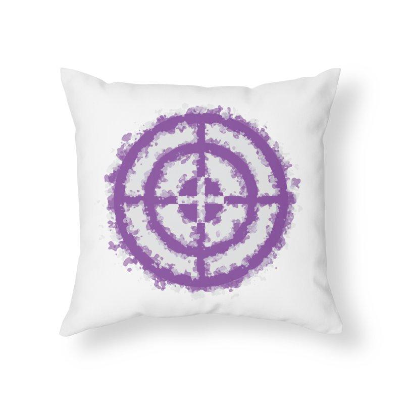 Hawkeye Home Throw Pillow by AvijoDesign's Artist Shop