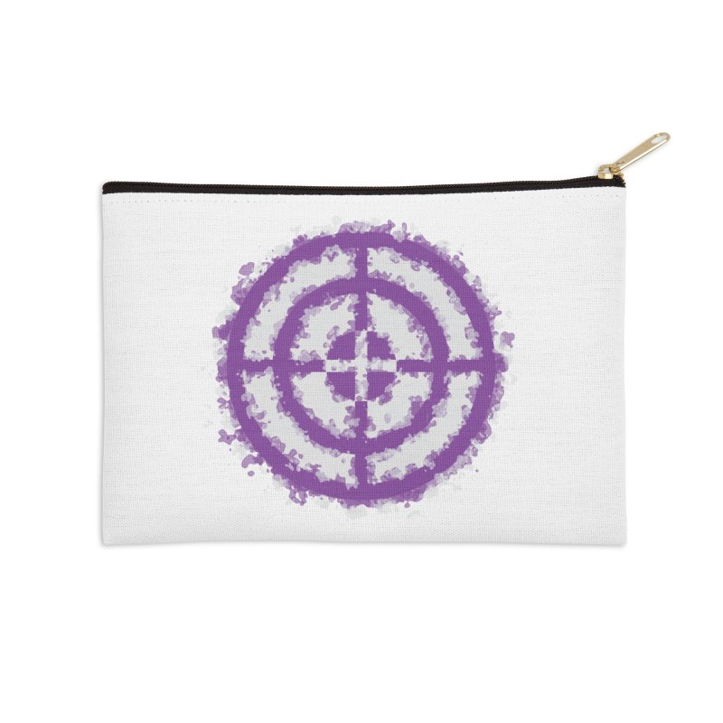 Hawkeye Accessories Zip Pouch by AvijoDesign's Artist Shop