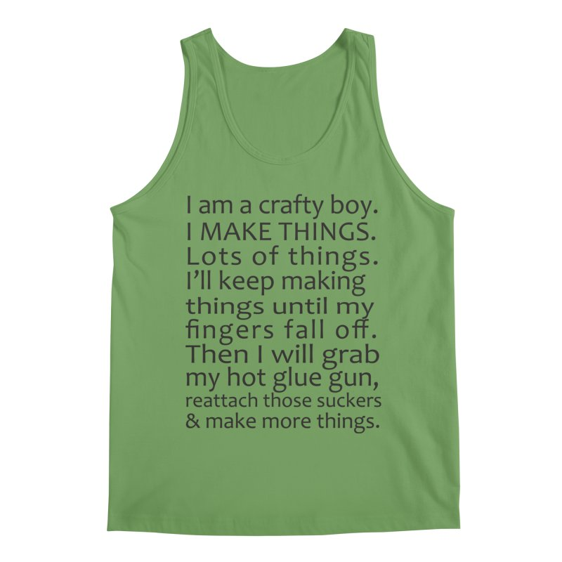 Crafty Boy Men's Tank by AvijoDesign's Artist Shop