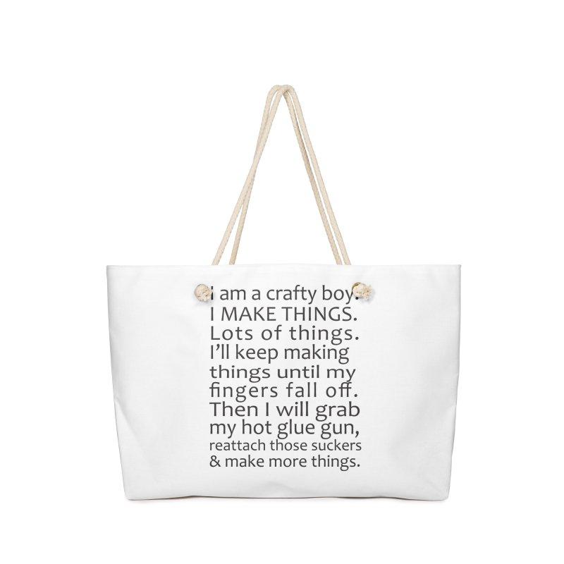 Crafty Boy Accessories Bag by AvijoDesign's Artist Shop