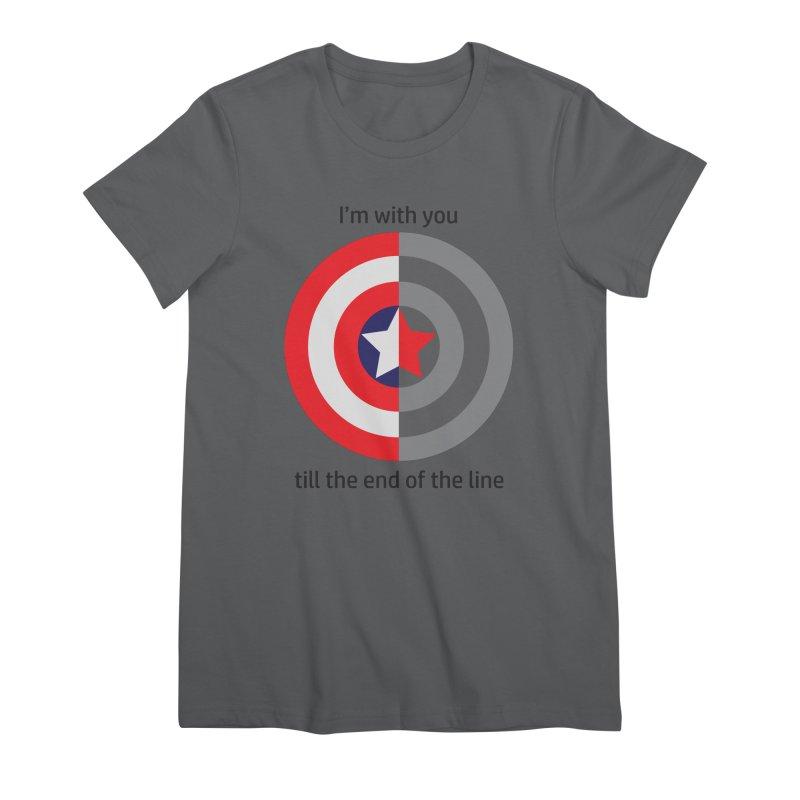 Till the end of the line Women's Premium T-Shirt by AvijoDesign's Artist Shop