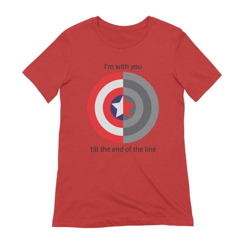 Till the end of the line Women's Extra Soft T-Shirt by AvijoDesign's Artist Shop