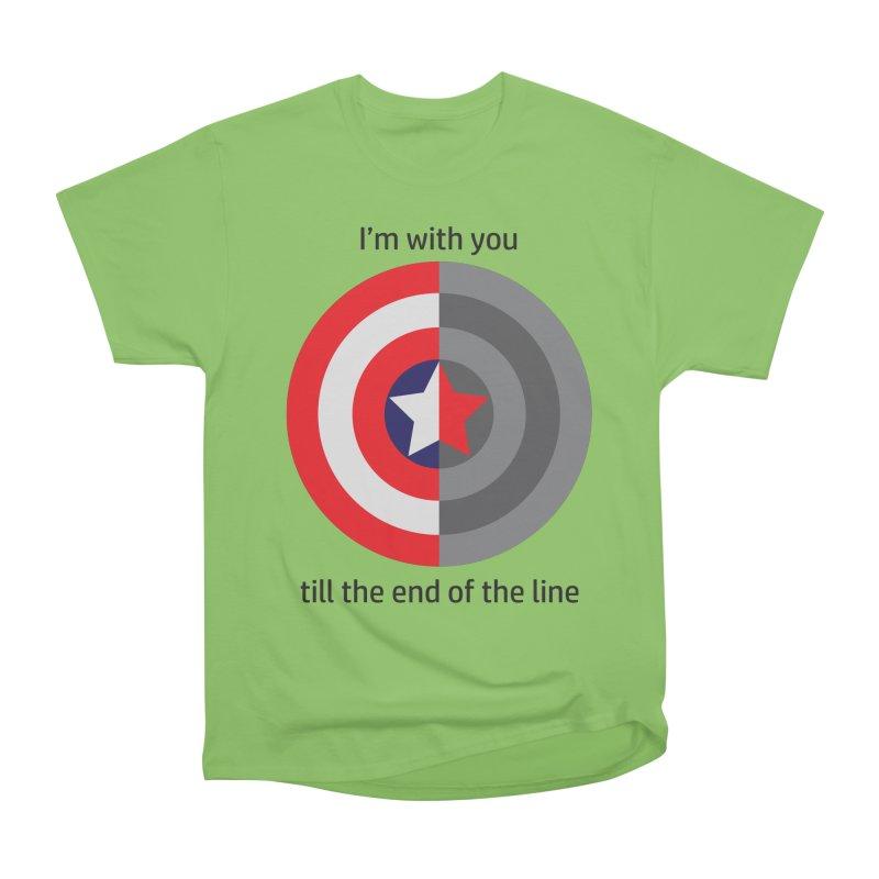 Till the end of the line Women's T-Shirt by AvijoDesign's Artist Shop