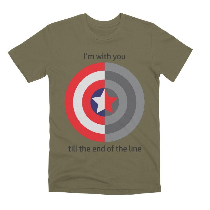 Till the end of the line Men's Premium T-Shirt by AvijoDesign's Artist Shop