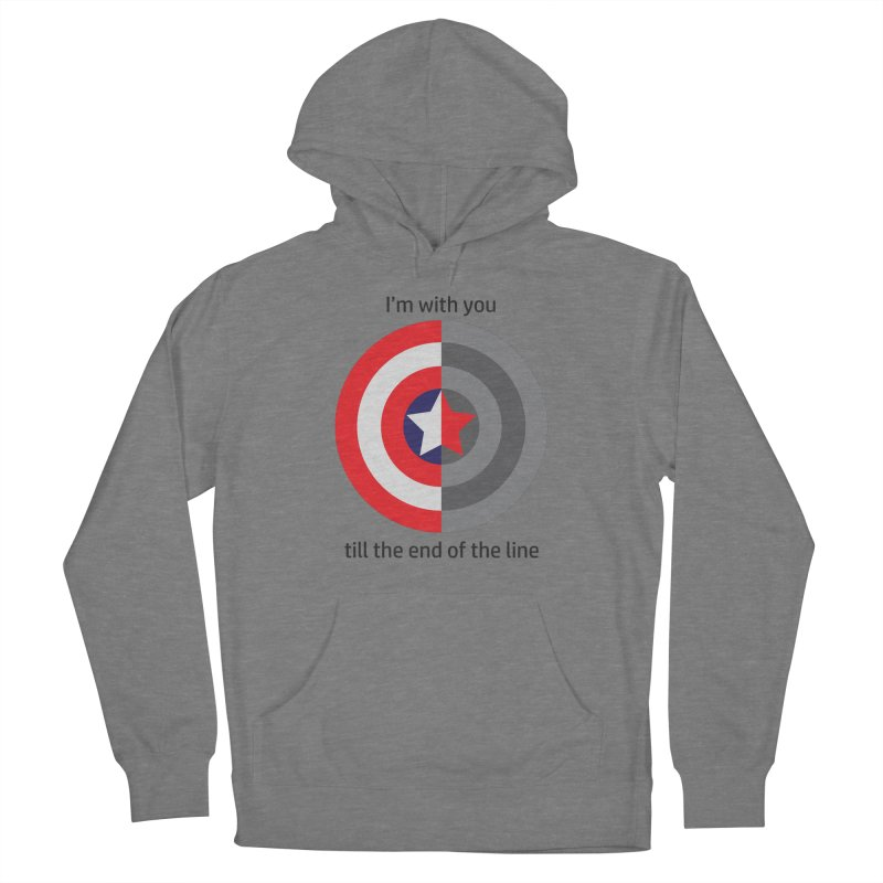 Till the end of the line Women's Pullover Hoody by AvijoDesign's Artist Shop