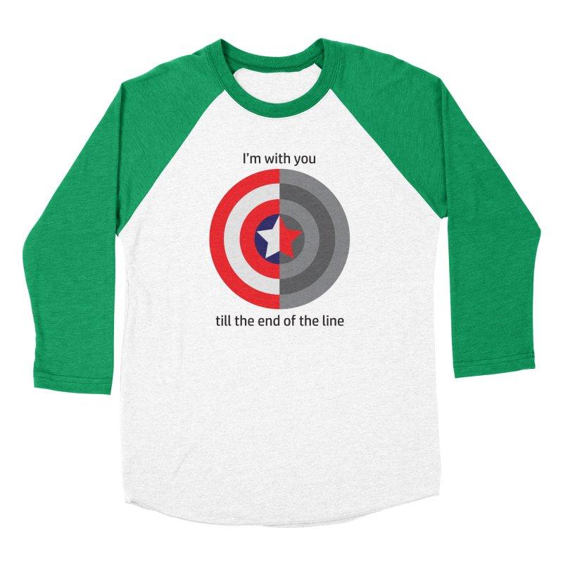Till the end of the line Women's Baseball Triblend Longsleeve T-Shirt by AvijoDesign's Artist Shop