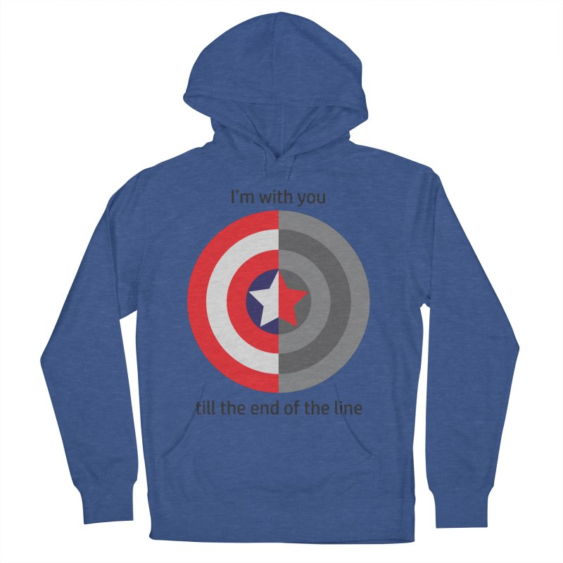 Till the end of the line Women's French Terry Pullover Hoody by AvijoDesign's Artist Shop