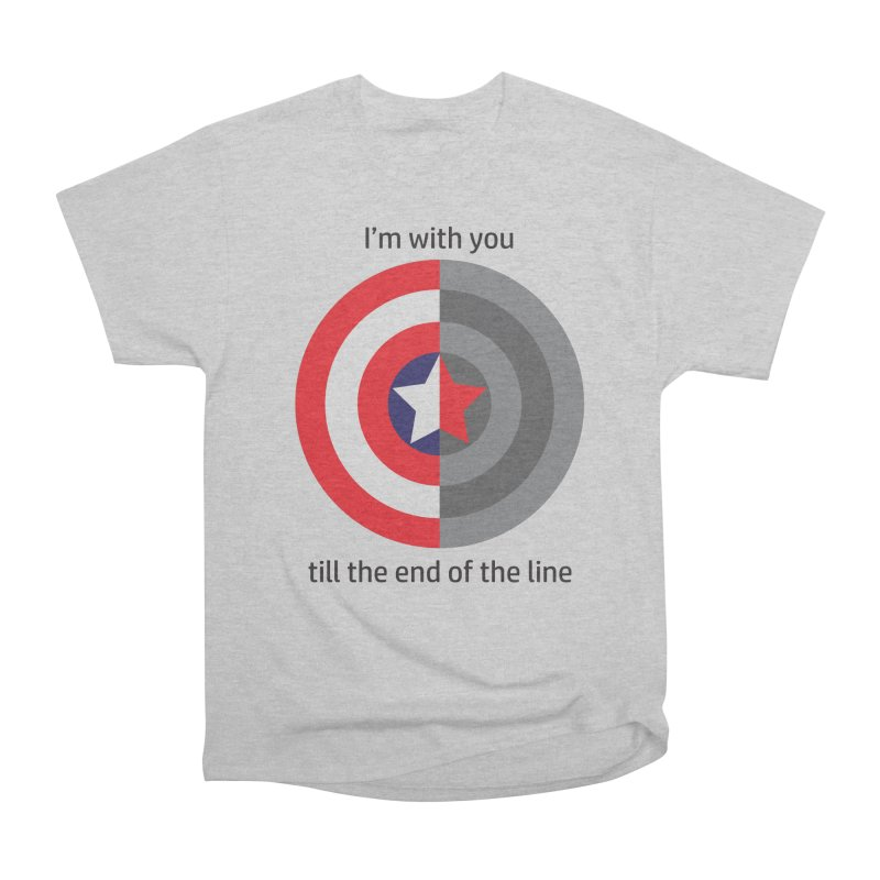 Till the end of the line Men's T-Shirt by AvijoDesign's Artist Shop