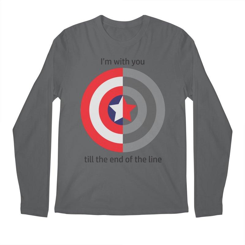 Till the end of the line Men's Longsleeve T-Shirt by AvijoDesign's Artist Shop