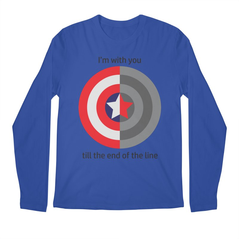 Till the end of the line Men's Regular Longsleeve T-Shirt by AvijoDesign's Artist Shop