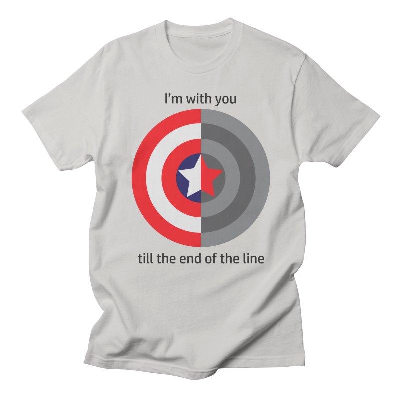 Till the end of the line Women's Regular Unisex T-Shirt by AvijoDesign's Artist Shop