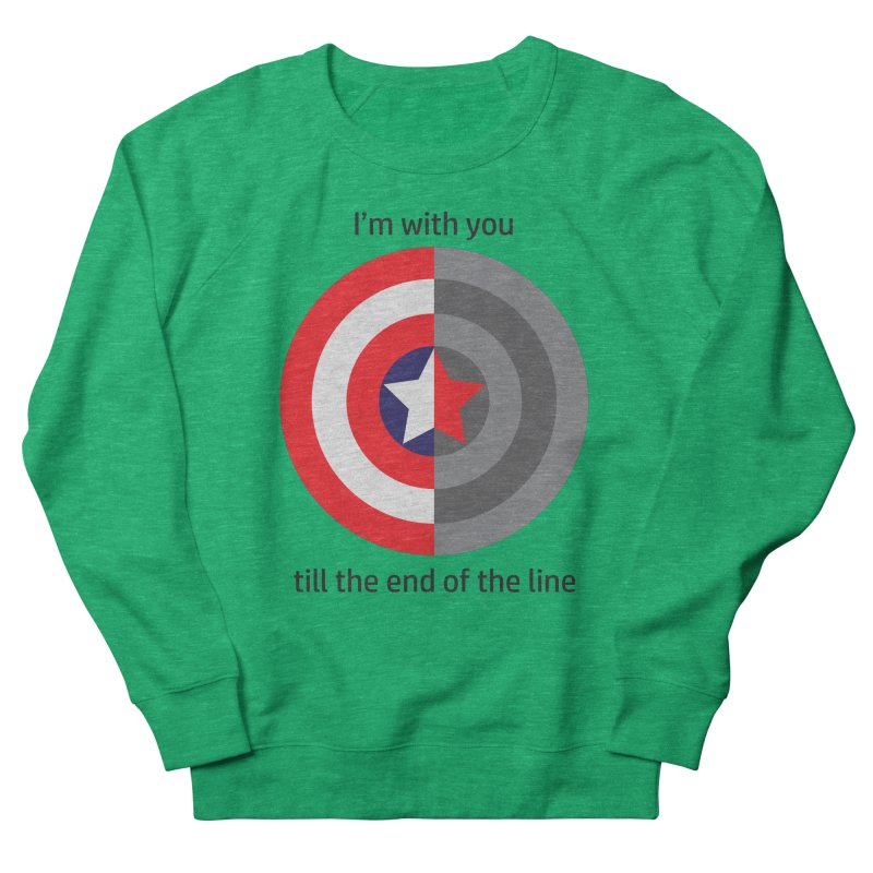 Till the end of the line Women's Sweatshirt by AvijoDesign's Artist Shop