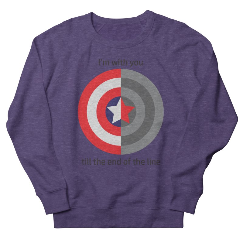Till the end of the line Women's French Terry Sweatshirt by AvijoDesign's Artist Shop
