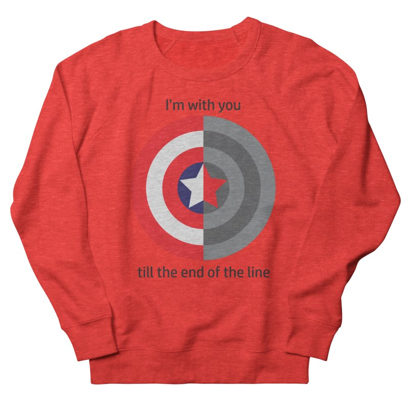 Till the end of the line Women's Sweatshirt by AvijoDesign's Artist Shop