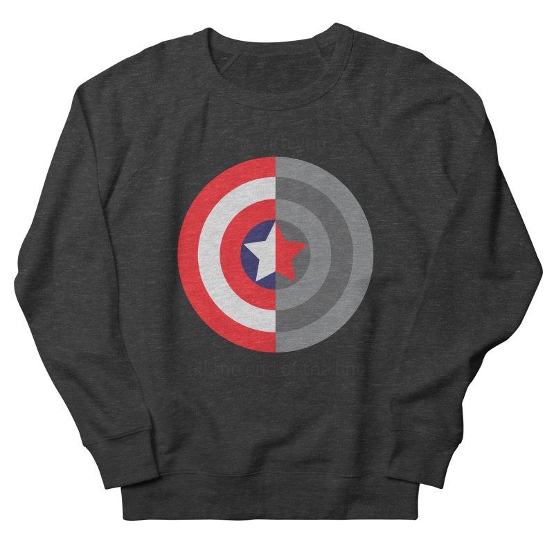 Till the end of the line Men's Sweatshirt by AvijoDesign's Artist Shop