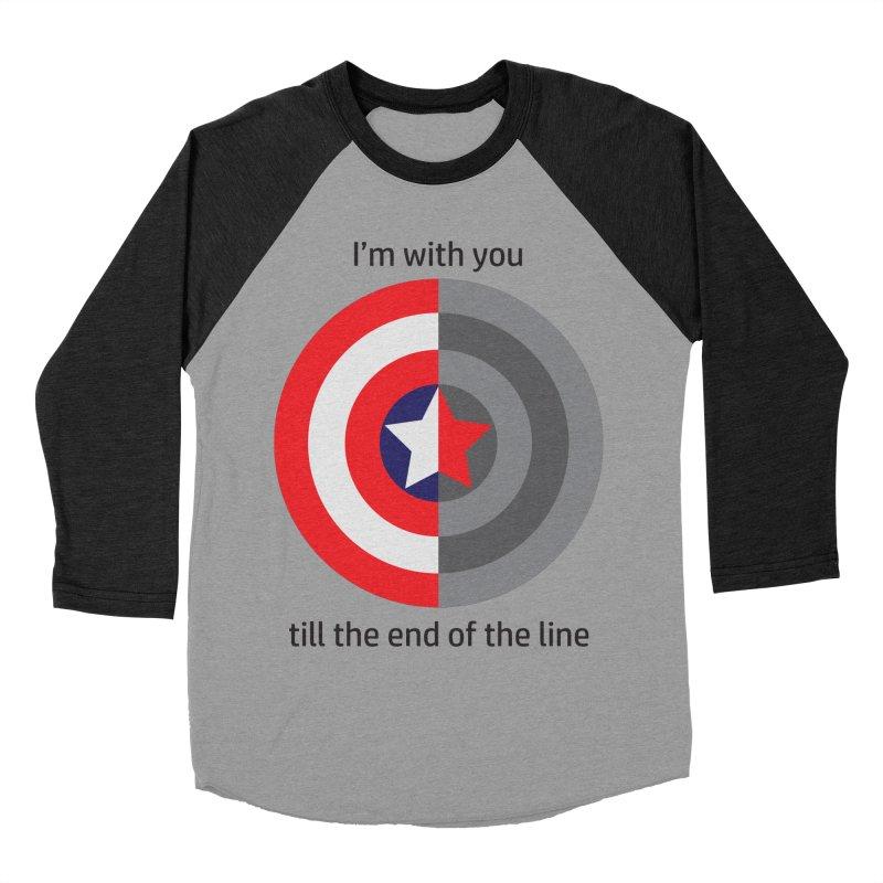 Till the end of the line Men's Baseball Triblend Longsleeve T-Shirt by AvijoDesign's Artist Shop