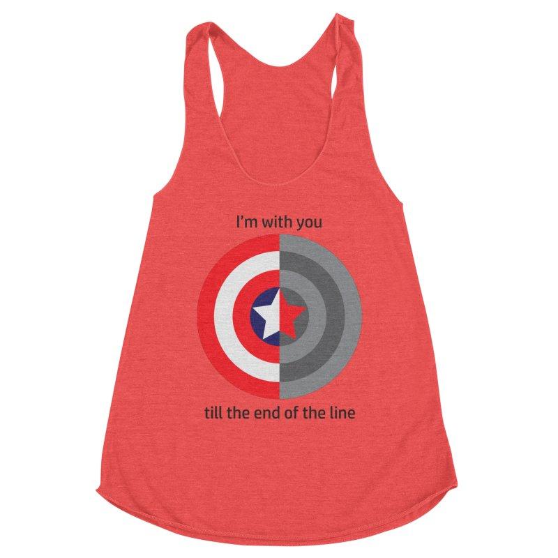 Till the end of the line Women's Tank by AvijoDesign's Artist Shop