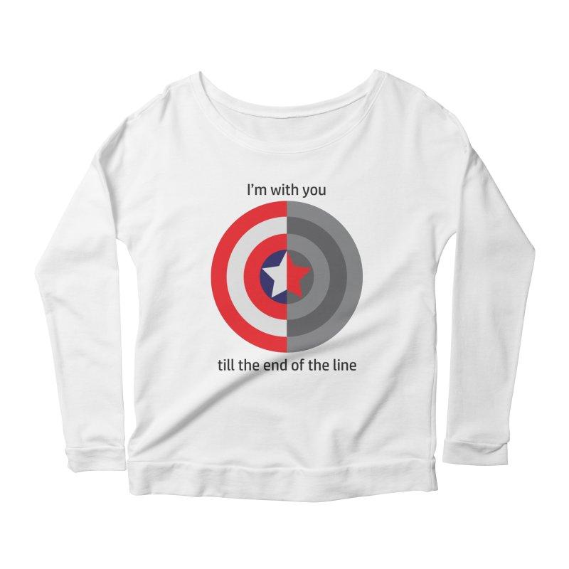 Till the end of the line Women's Scoop Neck Longsleeve T-Shirt by AvijoDesign's Artist Shop