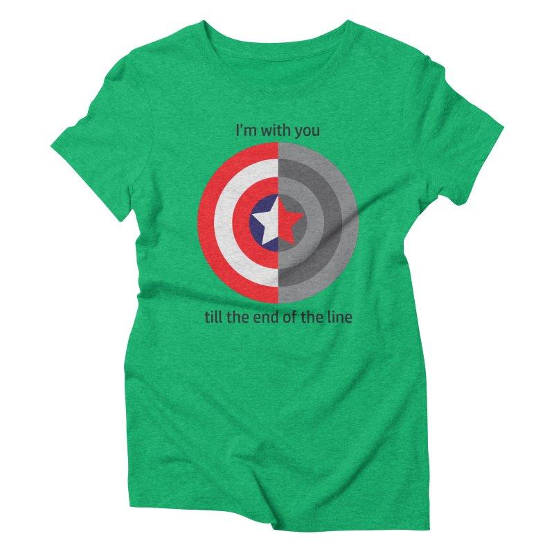 Till the end of the line Women's Triblend T-Shirt by AvijoDesign's Artist Shop