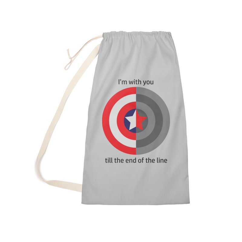 Till the end of the line Accessories Laundry Bag Bag by AvijoDesign's Artist Shop