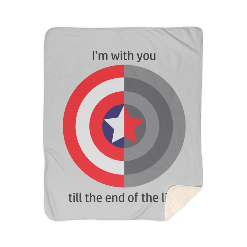 Till the end of the line Home Blanket by AvijoDesign's Artist Shop