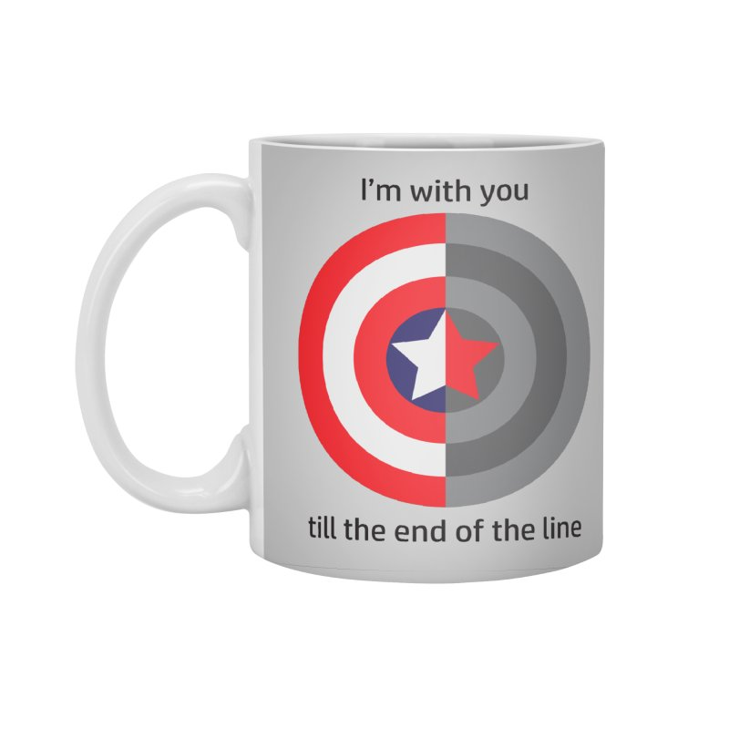 Till the end of the line Accessories Mug by AvijoDesign's Artist Shop