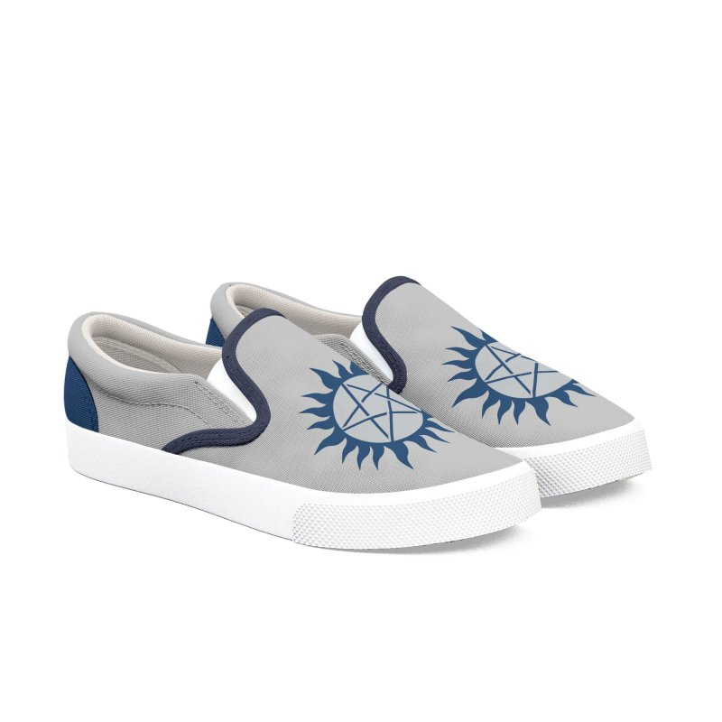Get the Salt Men's Slip-On Shoes by AvijoDesign's Artist Shop