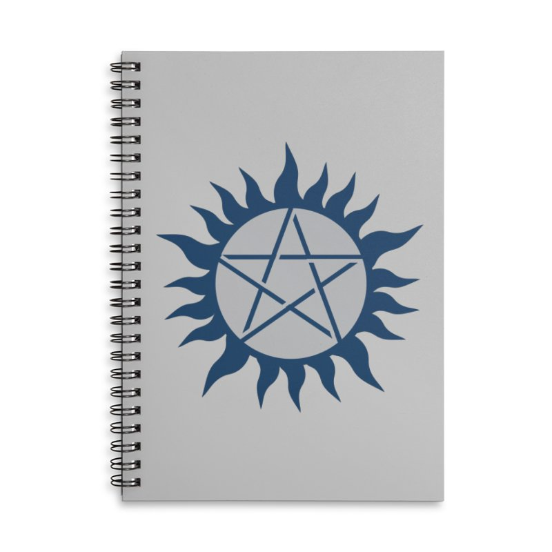 Get the Salt Accessories Lined Spiral Notebook by AvijoDesign's Artist Shop