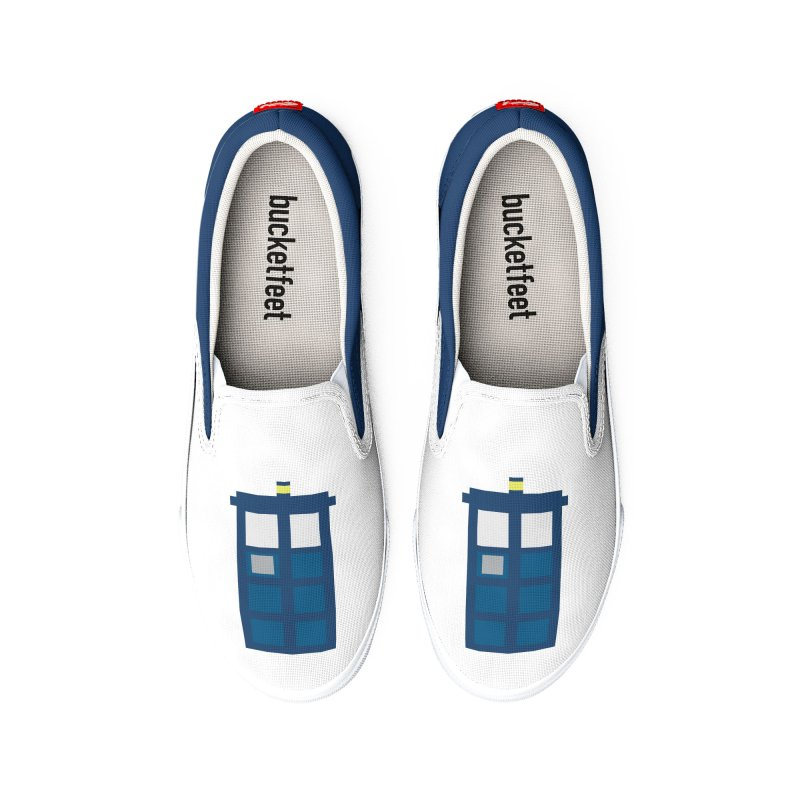 Blue Box Men's Shoes by AvijoDesign's Artist Shop