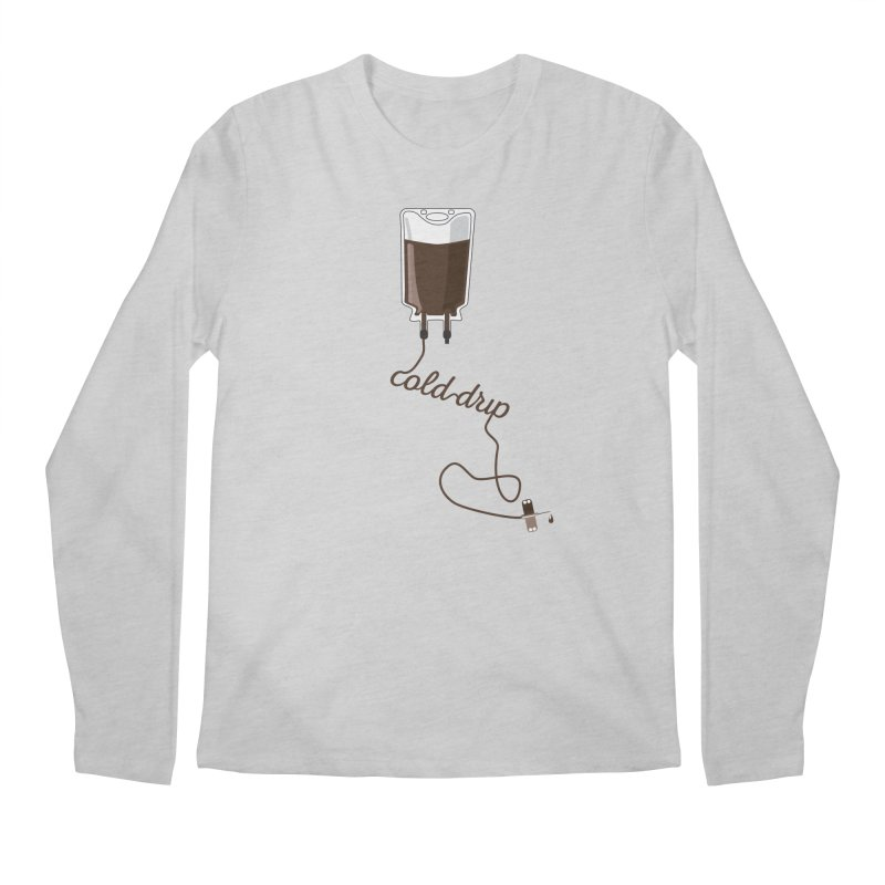 Cold Drip Coffee Men's Longsleeve T-Shirt by Avo G'day!