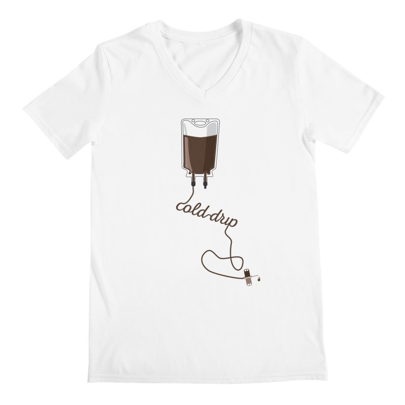 Cold Drip Coffee Men's V-Neck by Avo G'day!