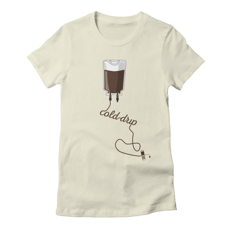 Cold Drip Coffee Women's T-Shirt by Avo G'day!