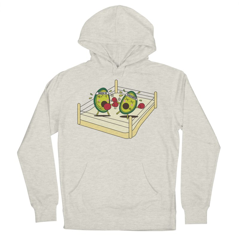 Smashed Avocado on Toast Men's Pullover Hoody by Avo G'day!