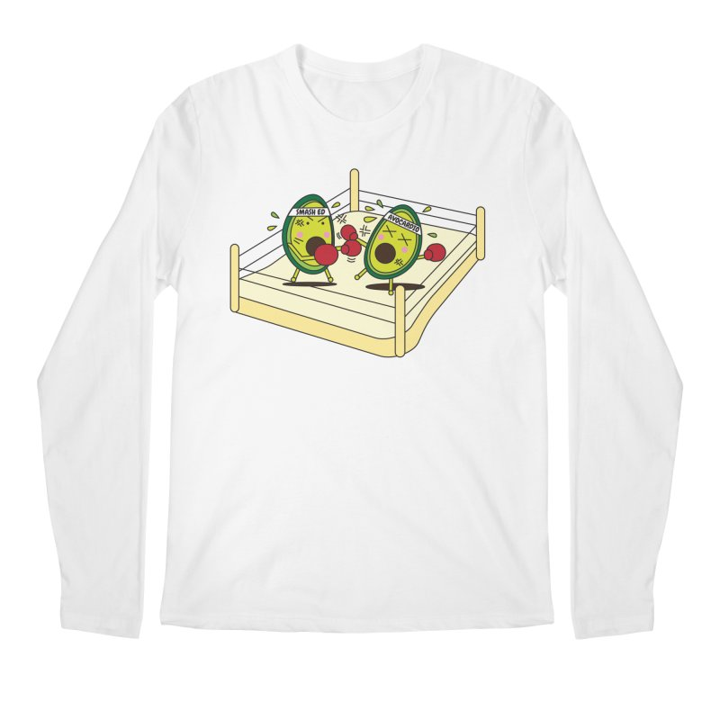 Smashed Avocado on Toast Men's Longsleeve T-Shirt by Avo G'day!