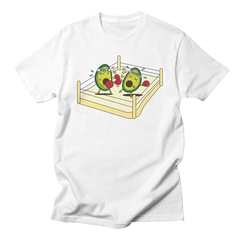 Smashed Avocado on Toast Men's Regular T-Shirt by Avo G'day!