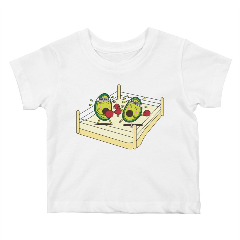 Smashed Avocado on Toast Kids Baby T-Shirt by Avo G'day!
