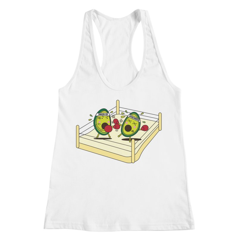 Smashed Avocado on Toast Women's Racerback Tank by Avo G'day!
