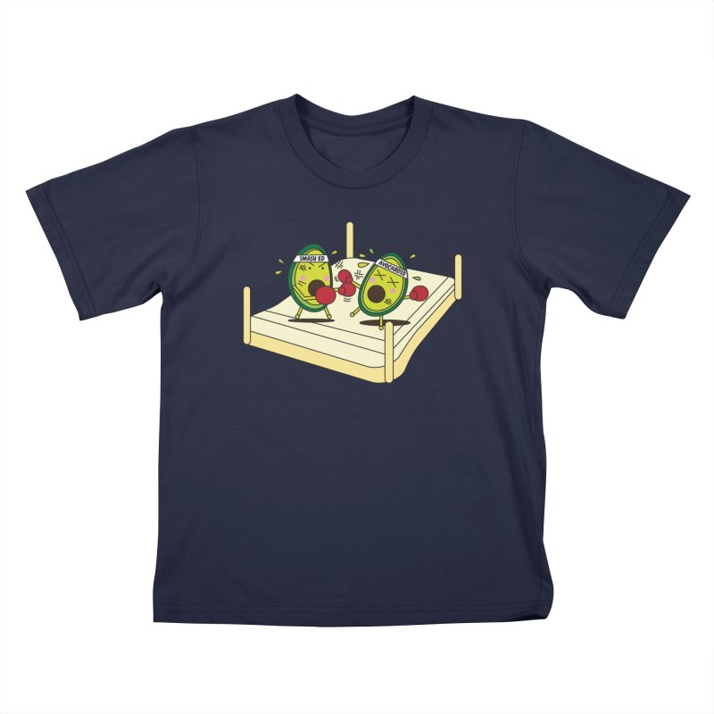 Smashed Avocado on Toast Kids Toddler T-Shirt by Avo G'day!