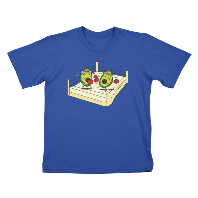 Smashed Avocado on Toast Kids T-Shirt by Avo G'day!