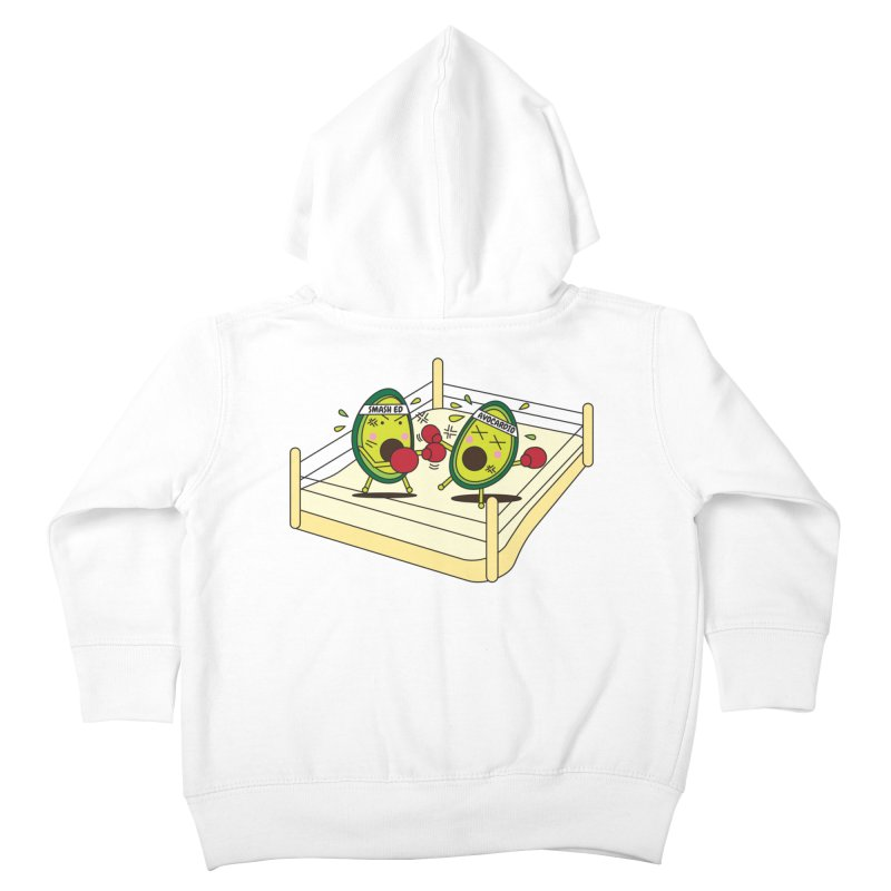 Smashed Avocado on Toast Kids Toddler Zip-Up Hoody by Avo G'day!