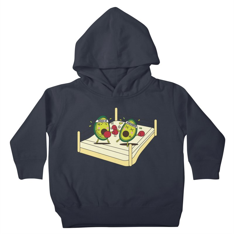 Smashed Avocado on Toast Kids Toddler Pullover Hoody by Avo G'day!
