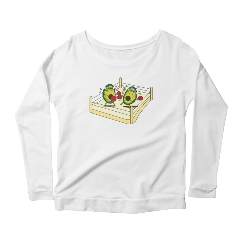 Smashed Avocado on Toast Women's Longsleeve T-Shirt by Avo G'day!